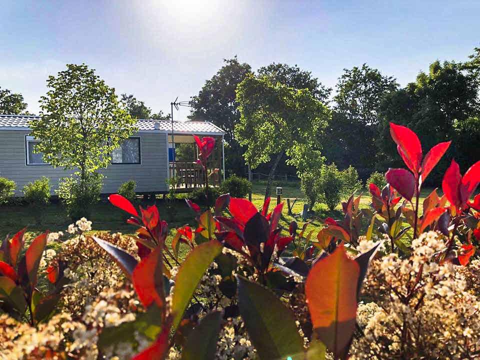 achat mobil home camping Vendée