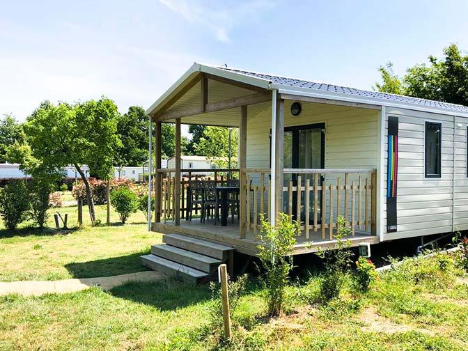 Mobil home Panama camping Vendée