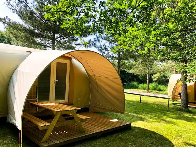 extérieur Cocorico Insolite camping pré de l'étang