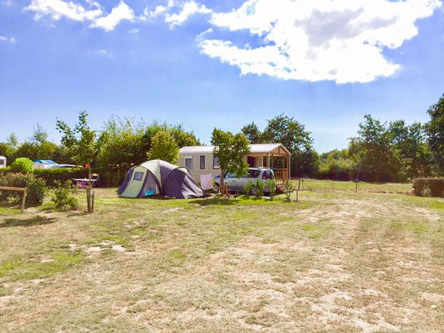 parc pour se placer camping Vendée