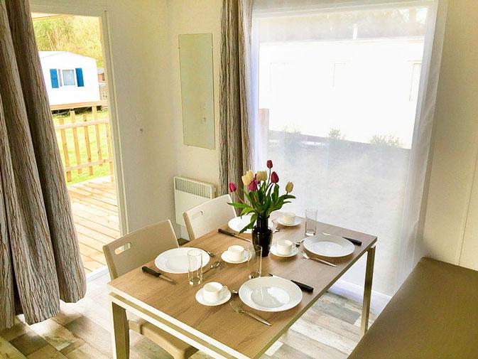 salle à manger MH Malaga camping Vendée