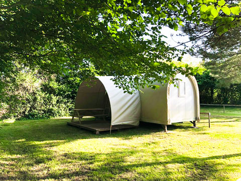 tente cocorico insolite camping Vendée