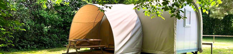 vue sur Cocorico Insolite camping Vendée