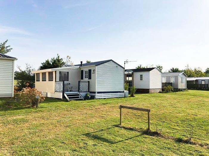 vue sur locatifs camping Vendée
